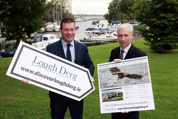 Minister launches dedicated tourism website for Lough Derg