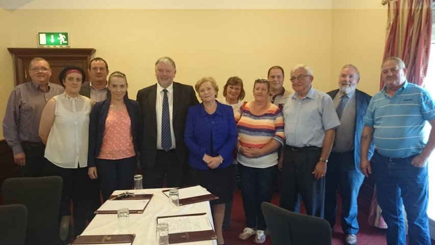 Justice Minister meets Representatives of Roscrea Stands Up – Noel Coonan TD