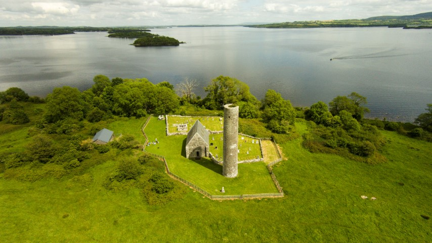 Lough Derg, as seen from above Holy Island. Pic Niall Culligan (Small)
