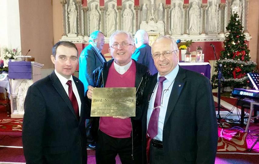 Fr Nicholas Sheehy, 250th Anniversary Concert Presentation