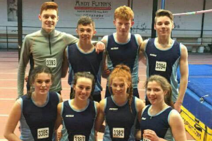 Carrick on Suir are County Senior Relay Champions 2017