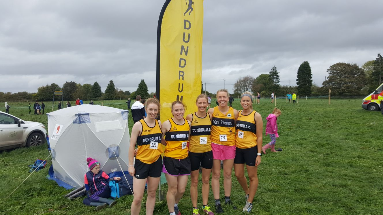 Dundrum AC strike Gold at County Novice XCountry