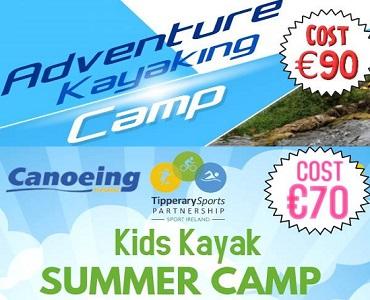 Kayaking Summer Camps – Tipperary Sports Partnership