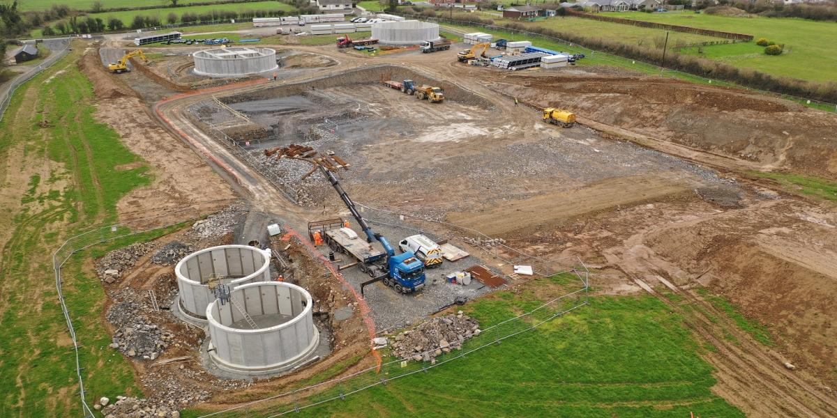 THURLES REGIONAL WATER SUPPLY SCHEME – WATER TREATMENT PLANT & PIPELINES FUNDED BY IRISH WATER