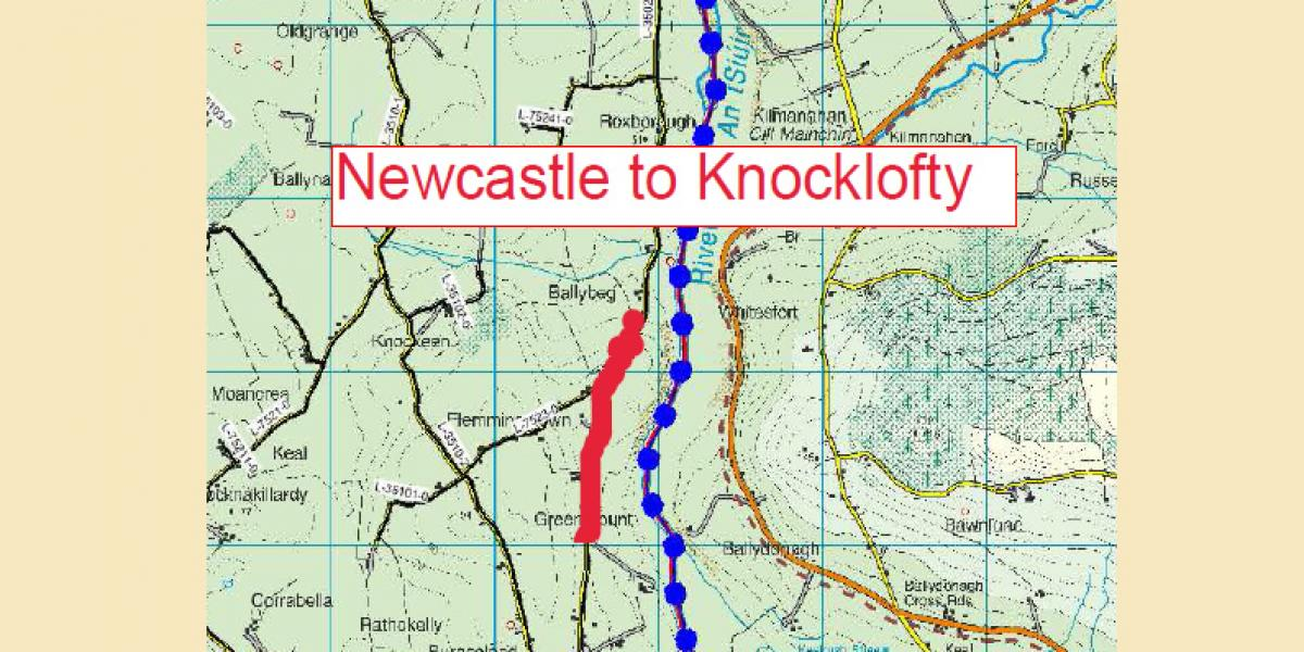 NEWCASTLE TO KNOCKLOFTY (L-3502) ROAD WORKS