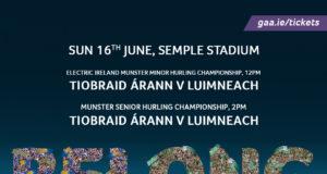 Munster S.H.C. Round Robin -Rnd 5- Tipperary v Limerick