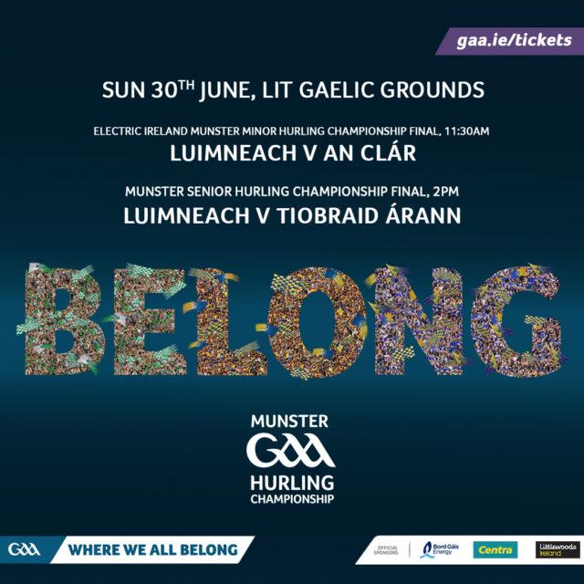2019 Munster Senior Hurling Championship Final – Tipperary v Limerick