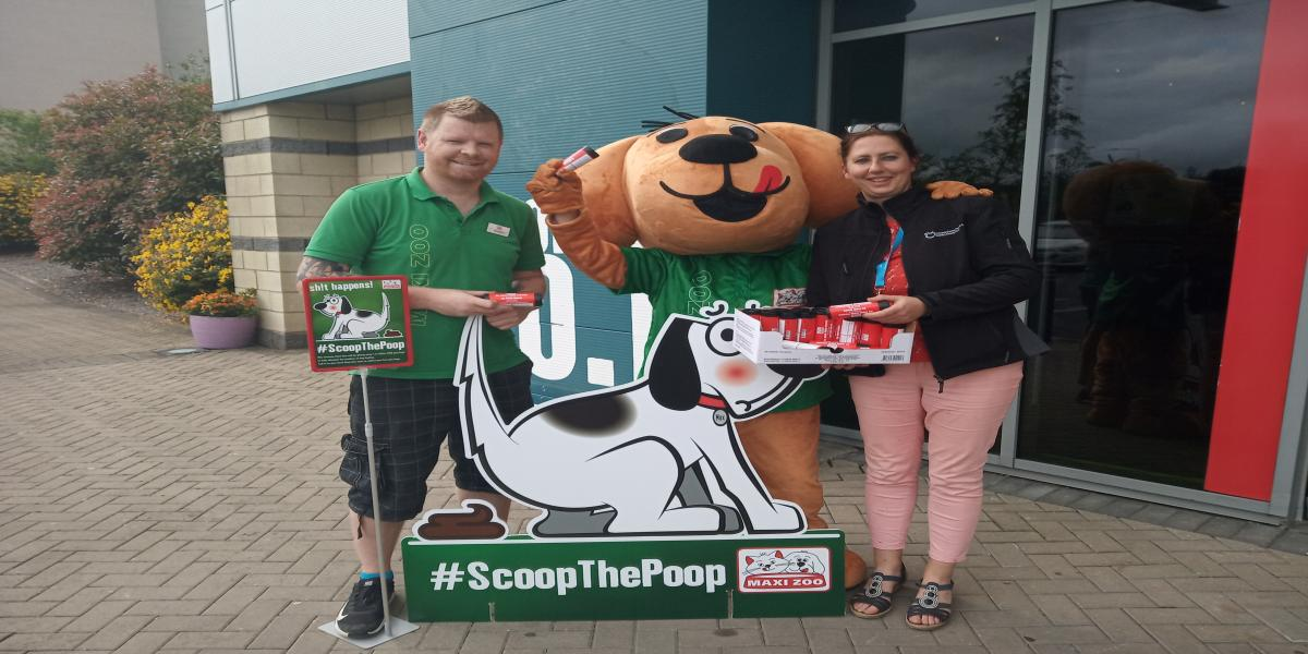 "FREE DEGRADABLE ""SCOOP THE POOP"" BAGS FOR ALL DOG OWNERS IN TIPPERARY"