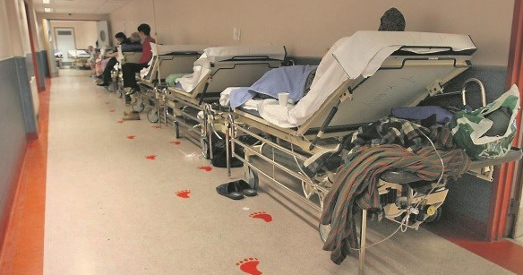 """Minister is presiding over an utter paralysis in tackling hospital trolley counts,"" Mattie McGrath"