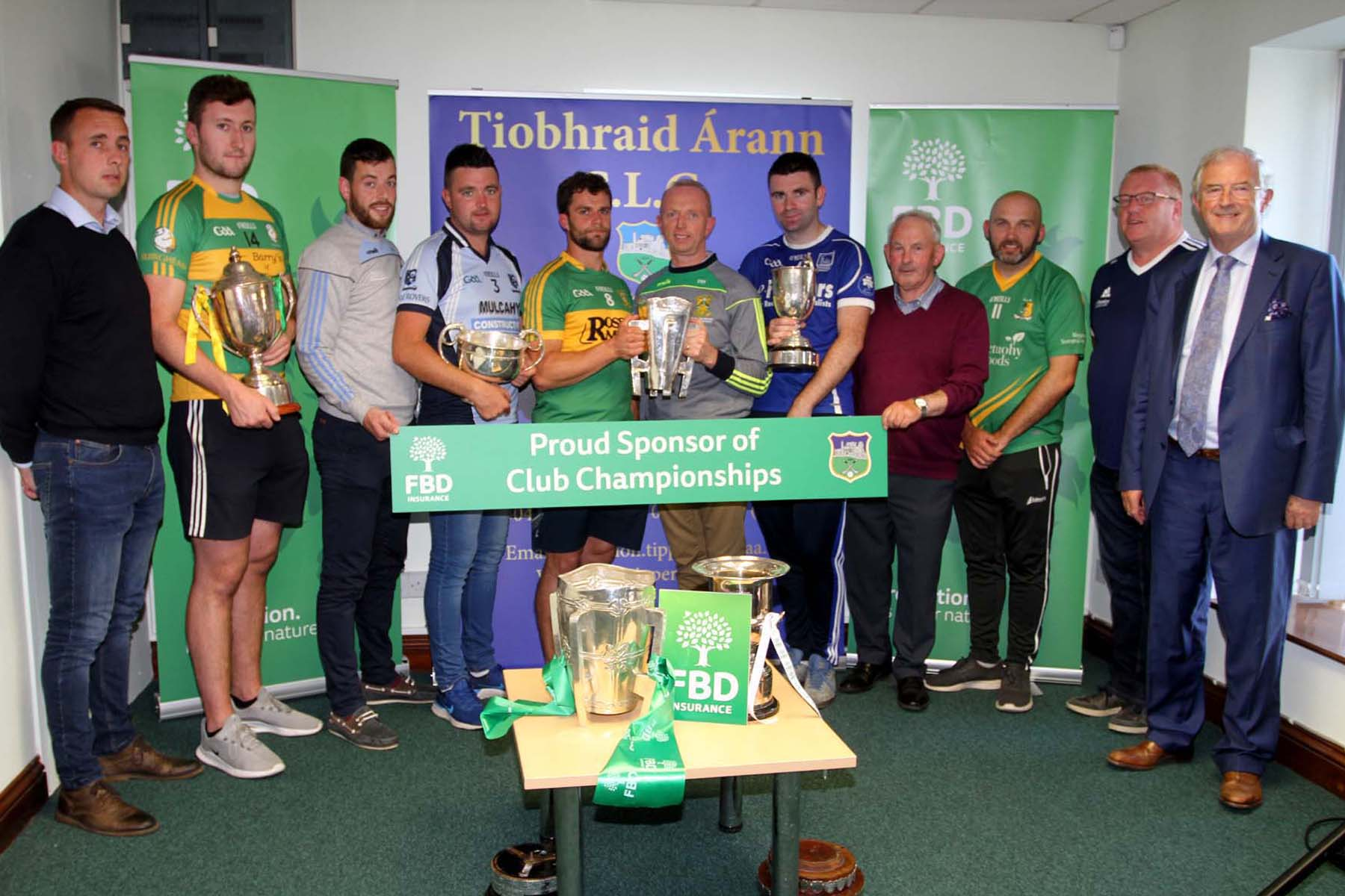 Tipperary GAA / FBD Insurance Press Release