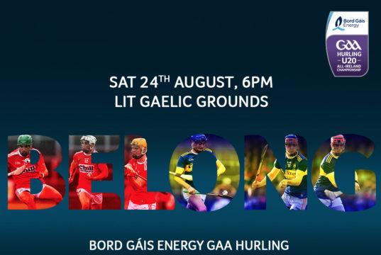 2019 Bord Gáis Energy GAA Hurling All-Ireland Under 20 Championship Final – Tipperary V Cork